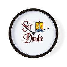 Sir Dandre Wall Clock
