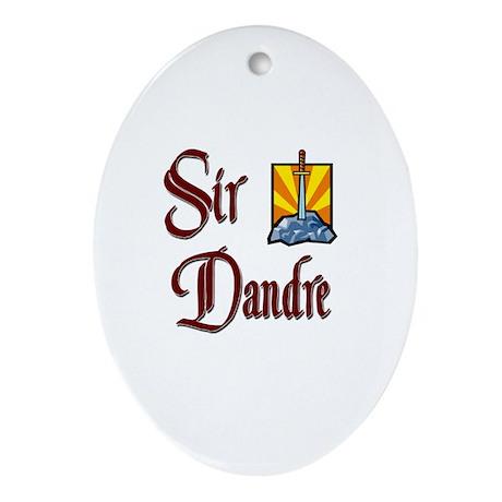 Sir Dandre Oval Ornament