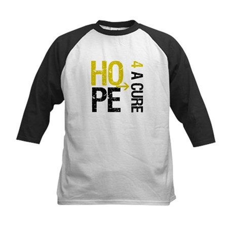 Hope Cure ChildhoodCancer Kids Baseball Jersey