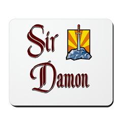 Sir Damon Mousepad