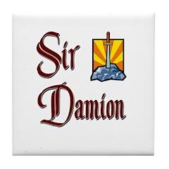 Sir Damion Tile Coaster