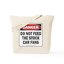 Stock Car Fans Tote Bag