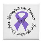 Leiomyosarcoma Survivor Tile Coaster