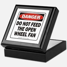 Open Wheel Fan Keepsake Box