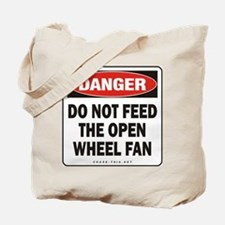 Open Wheel Fan Tote Bag