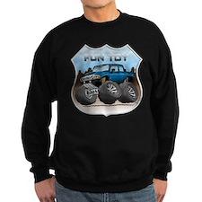 Blue Hummer H3T Sweatshirt