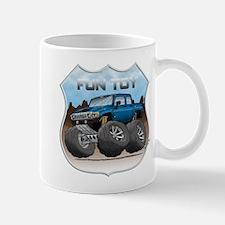 Blue Hummer H3T Mug