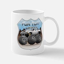White Hummer H3T Mug