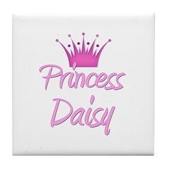 Princess Daisy Tile Coaster