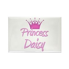 Princess Daisy Rectangle Magnet