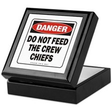 Crew Chiefs Keepsake Box