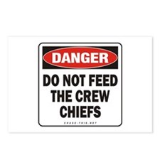 Crew Chiefs Postcards (Package of 8)