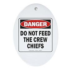 Crew Chiefs Oval Ornament