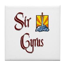 Sir Cyrus Tile Coaster