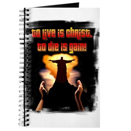 To live is Christ! Journal