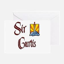 Sir Curtis Greeting Card