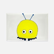 Yellow Wuppie Rectangle Magnet