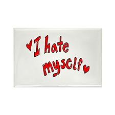 I Hate Myself Rectangle Magnet (100 pack)