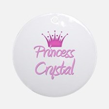 Princess Crystal Ornament (Round)