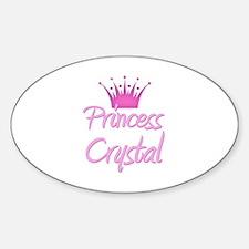 Princess Crystal Oval Decal