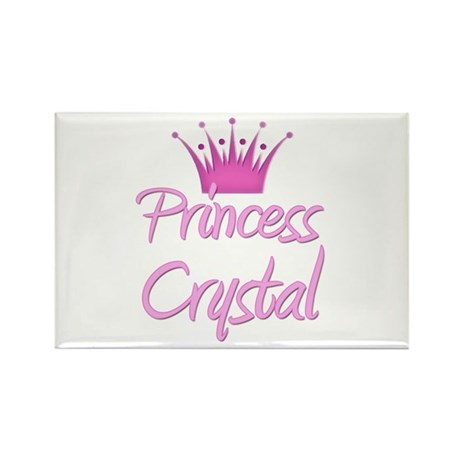 Princess Crystal Rectangle Magnet (10 pack)