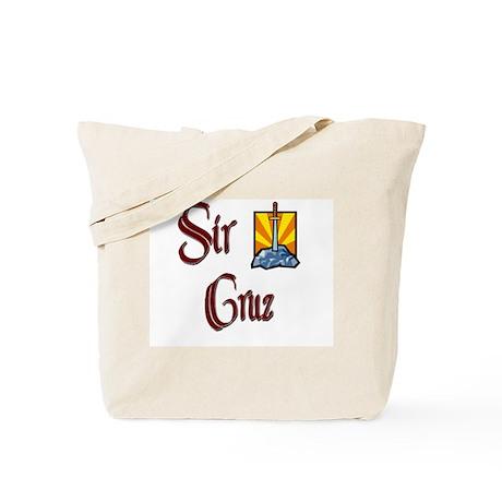 Sir Cruz Tote Bag