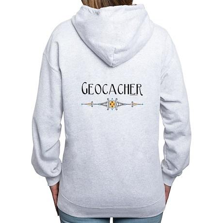 Geocacher Women's Zip Hoodie
