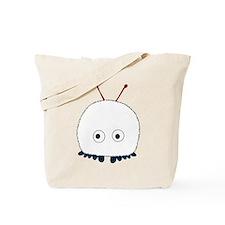 White Wuppie Tote Bag