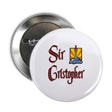 "Sir Cristopher 2.25"" Button"