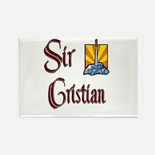 Sir Cristian Rectangle Magnet