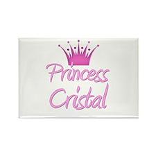 Princess Cristal Rectangle Magnet