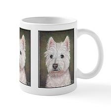 Westie (head study) Mug