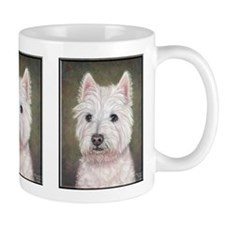 Westie (head study) Small Mug