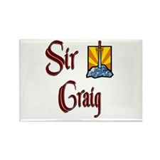 Sir Craig Rectangle Magnet