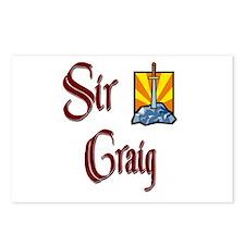 Sir Craig Postcards (Package of 8)