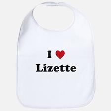 I love Lizette Bib