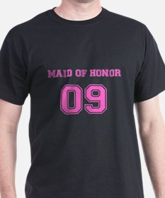 Maid of Honor Jersey T-Shirt