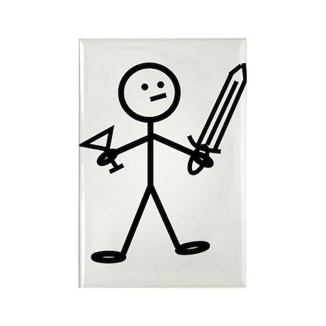 Adventurer Rectangle Magnet (100 pack)