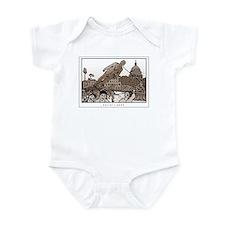 Cute Bush%27s last day Infant Bodysuit