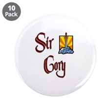 """Sir Cory 3.5"""" Button (10 pack)"""
