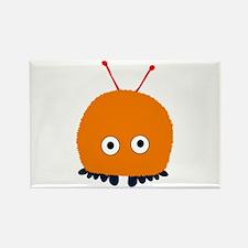 Orange Wuppie Rectangle Magnet