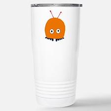 Orange Wuppie Stainless Steel Travel Mug