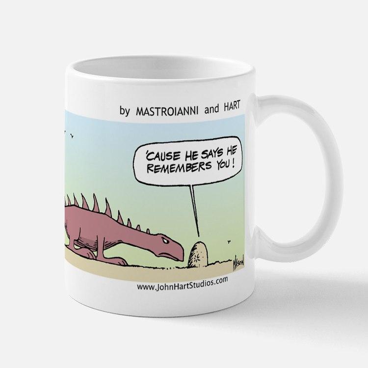 """""""He Remembers You"""" Mug"""