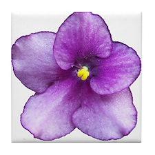 Beautiful Purple AV Tile Coaster