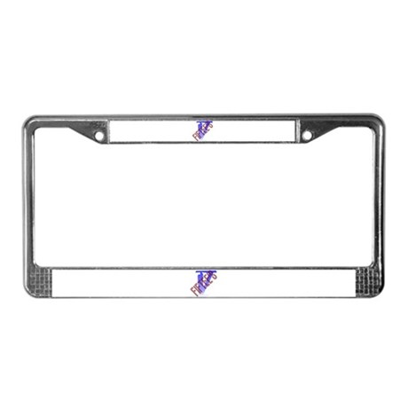 FifTee's License Plate Frame