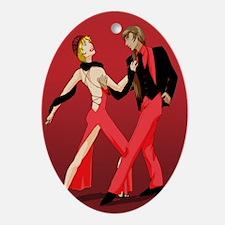 Tango's Oval Ornament