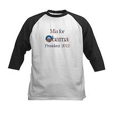 Mia for Obama 2012 Tee