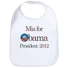 Mia for Obama 2012 Bib