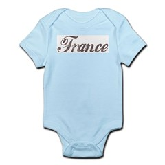 Vintage France Infant Creeper
