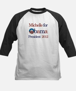 Michelle for Obama 2012 Kids Baseball Jersey